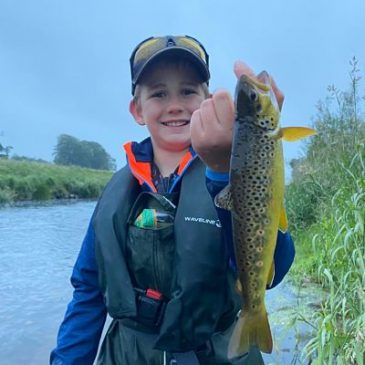 Brown Trout Season Opens with High Water